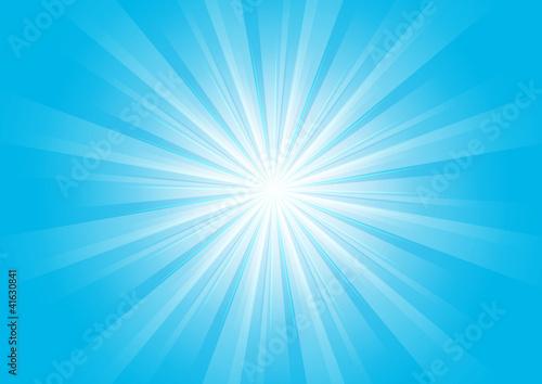 Photo  Supernova - Bleu