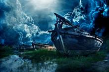Old Big Boat