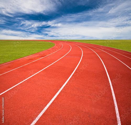 Fotografía  Running track