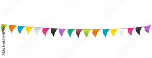 Guirlande de fanions Slika na platnu
