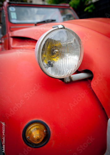Photo  Vintage car detail