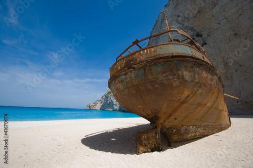 Foto op Canvas Schipbreuk Smuggler's shipwreck
