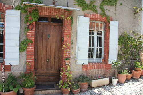 Foto op Canvas Tuin House in the Provence