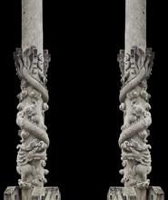 Dragon Stone Pole