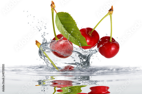Foto op Canvas Opspattend water Obst 411