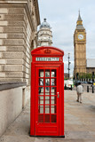 Red phone booth. London, England - 41702248