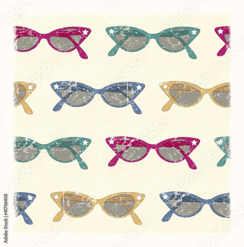 Fotografía  retro sunglasses background