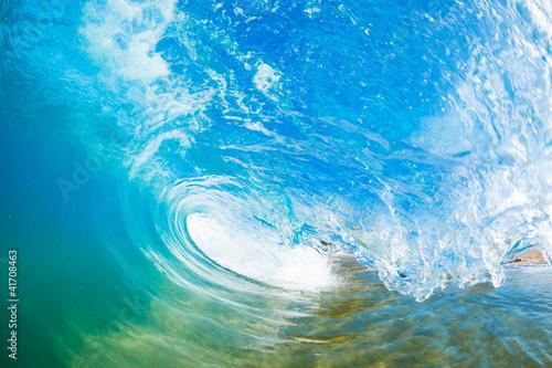Stickers pour porte Eau Ocean Wave