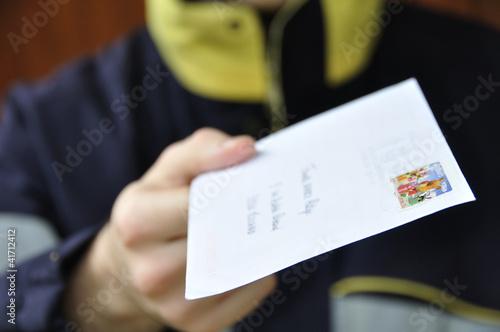 Photo Livraison du courrier
