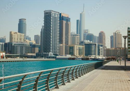 Obrazy na płótnie Canvas Dubai Marina cityscape