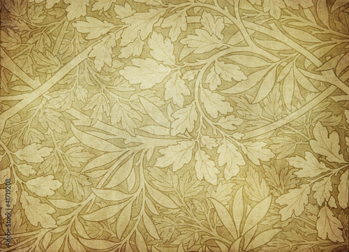 Canvas Prints Vintage Flowers grunge vintage wallpaper