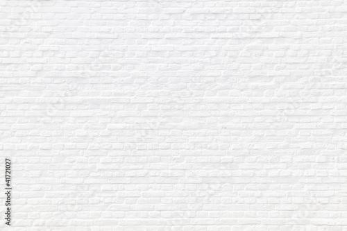 Carta da parati  Weiß gekalkte Ziegelsteinmauer