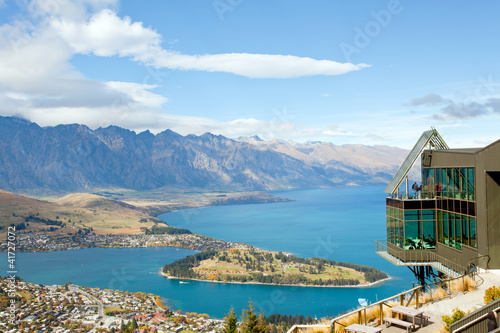 Foto op Aluminium Arctica Queenstown from Bob's Peak