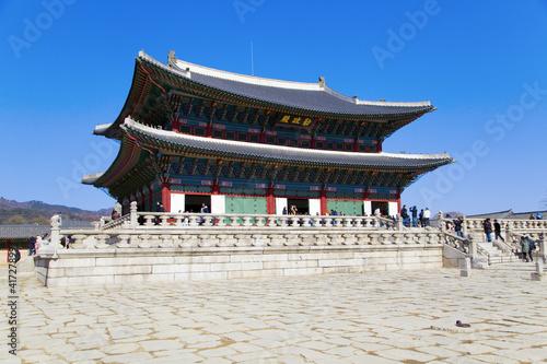 In de dag China Gyeongbokgung palace
