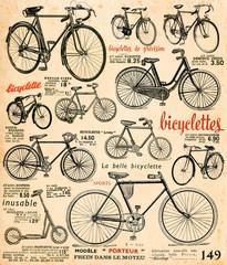 Fototapeta Bicyclettes