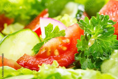 Fototapety do restauracji salatka
