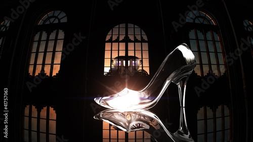 Fotografie, Obraz ガラスの靴