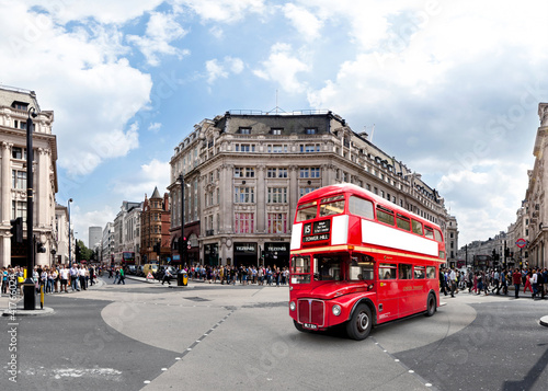Fototapety, obrazy: London Oxford Circus