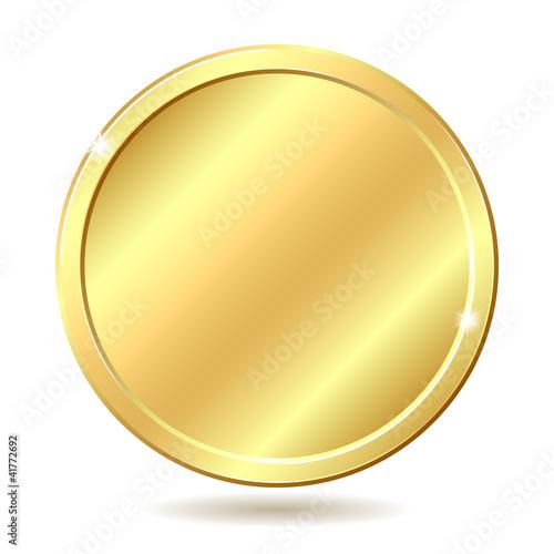 Fototapeta golden coin obraz
