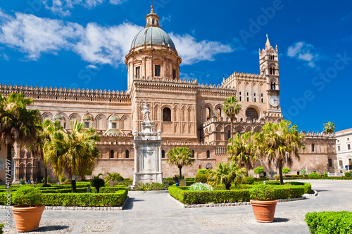 Photo sur Toile Palerme The Cathedral of Palermo