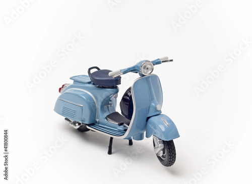 Photo  Italian vintage scooter