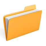 Yellow folder - 41805426