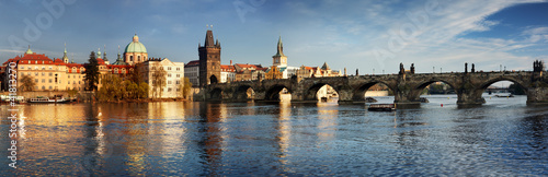 Staande foto Praag Charles Bridge in the Prague