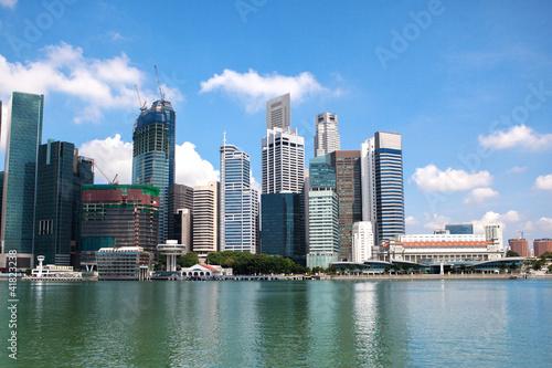 Photo  Singapore skyscraper