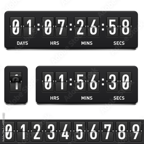Láminas  Countdown timer