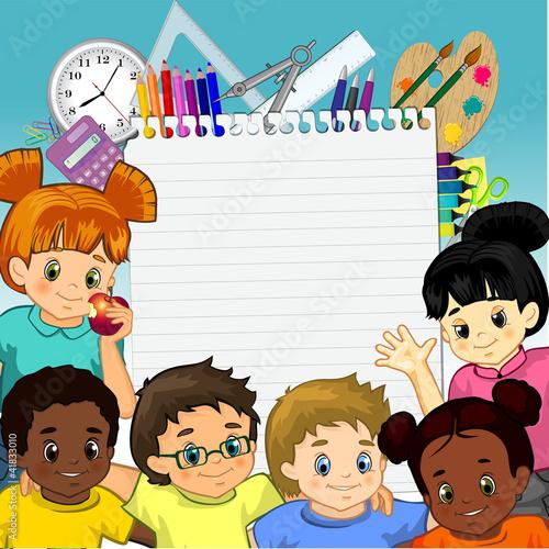 In de dag Regenboog Children's and foil colors