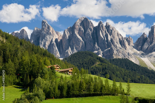 Wall Murals Alps The Odle