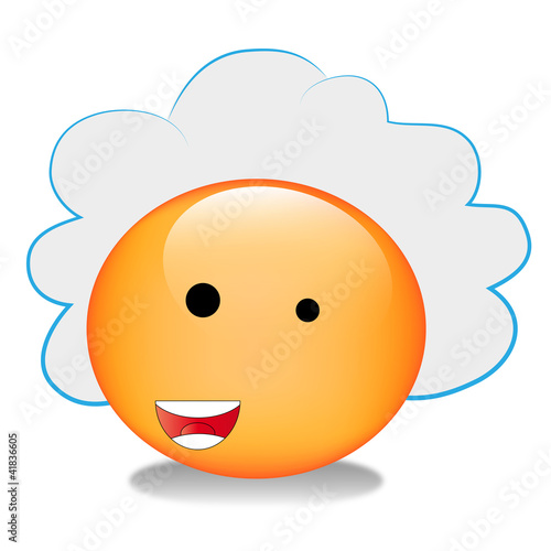 Smiley Cloud Computing Buy This Stock Vector And Explore Similar