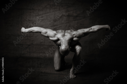 Naklejka premium bodybuilding