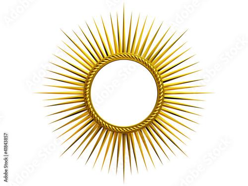 golden Glory Tableau sur Toile