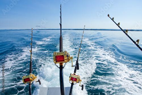 Poster Peche big game fishing