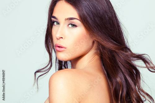 Fotografía  natural beauty woman portrait