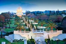 Night View On Bahai Gardens. I...