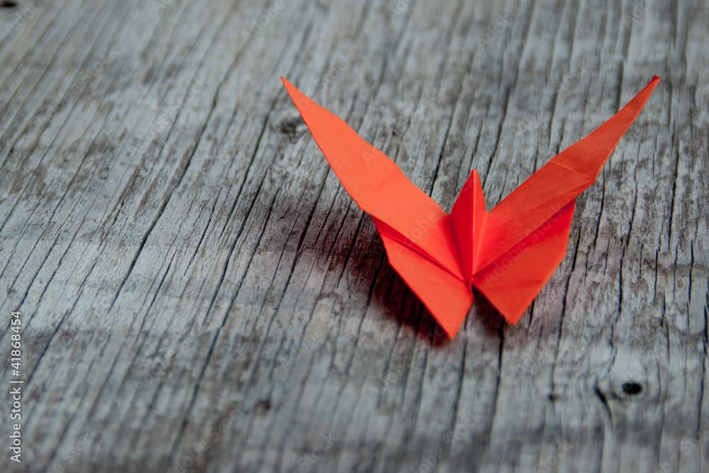 Fototapeta Farfalla origami