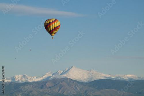Poster Landscapes Balloon Festival