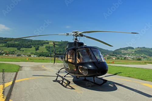 Tuinposter Helicopter Hubschrauber
