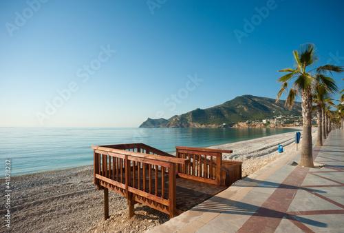 Fotomural Beach promenade