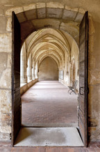 Cloister Of The Ancient Church...