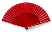 Spanish Red Fan