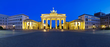 Panorama Brandenburg Gate Berlin