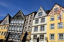 Market Square Of Cochem (Germany)