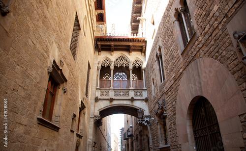 Barcelona Palau generalitat in gothic Barrio #41928864