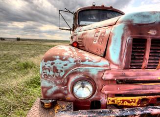 Abandoned Vehicle Prairie