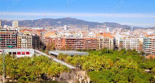 Obrazy Barcelona  barcelona-panoramic-z-gora-tibidabo