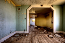 Interior Abandoned House Prairie