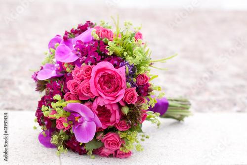 Fotografie, Obraz  Colorful bouquet